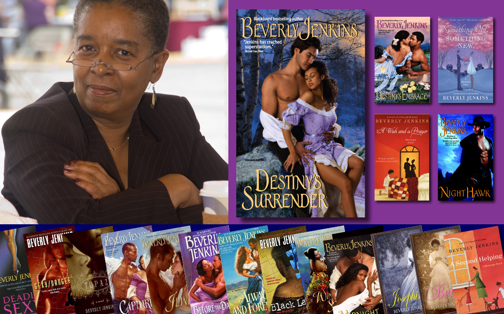 NAACP Image Award Nominated Author Beverly Jenkins