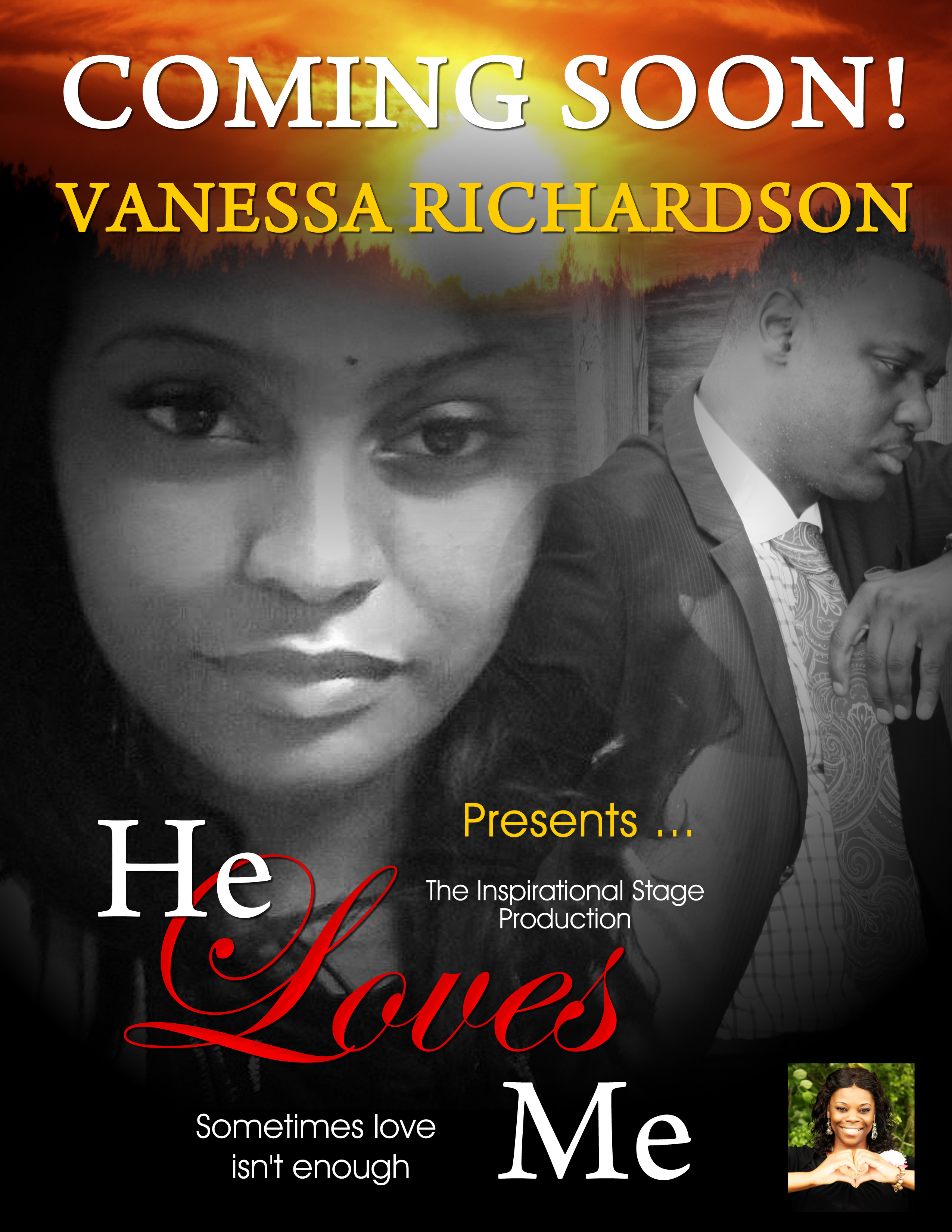 """Vanessa Richardson Presents """"He Loves Me"""", Stage Production"""
