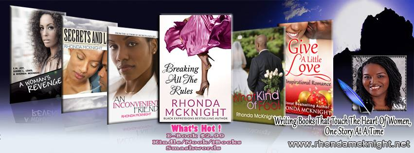 Inspirational Author Rhonda McKnight