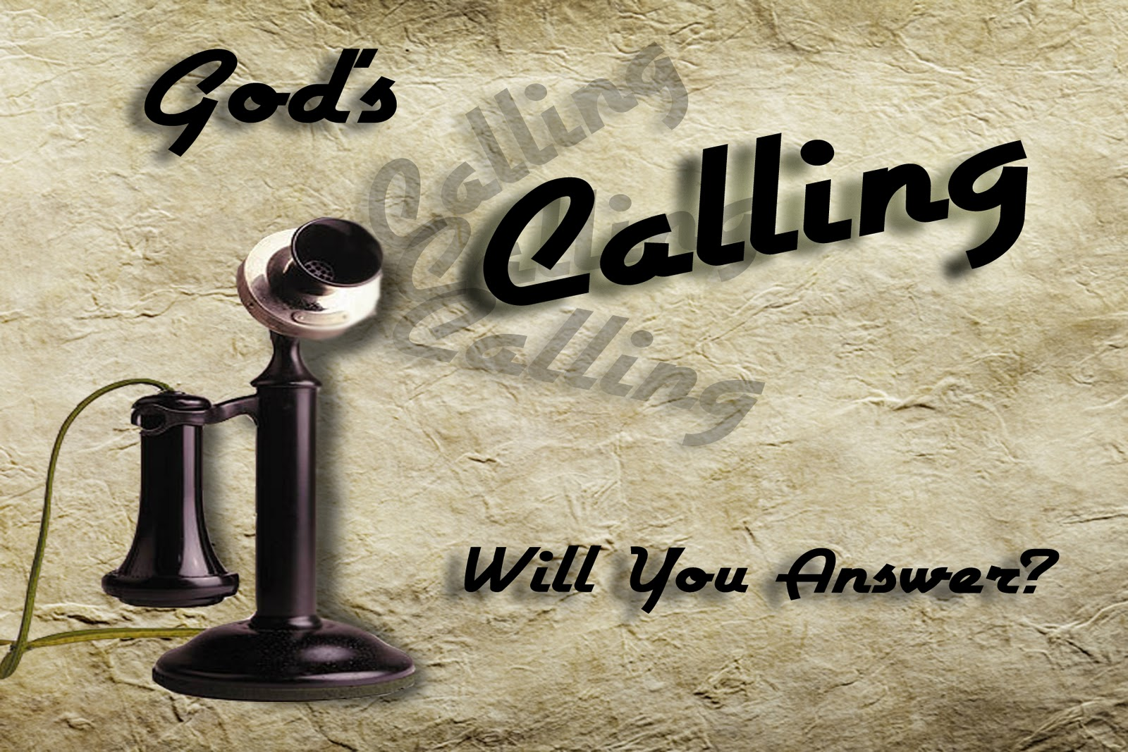 answering the call of God